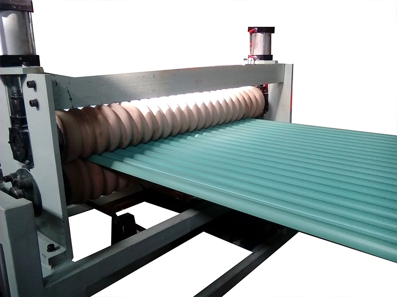 Pvc Corrugated Roof Sheet Extrusion Line 1 4 Layers Pe Pp